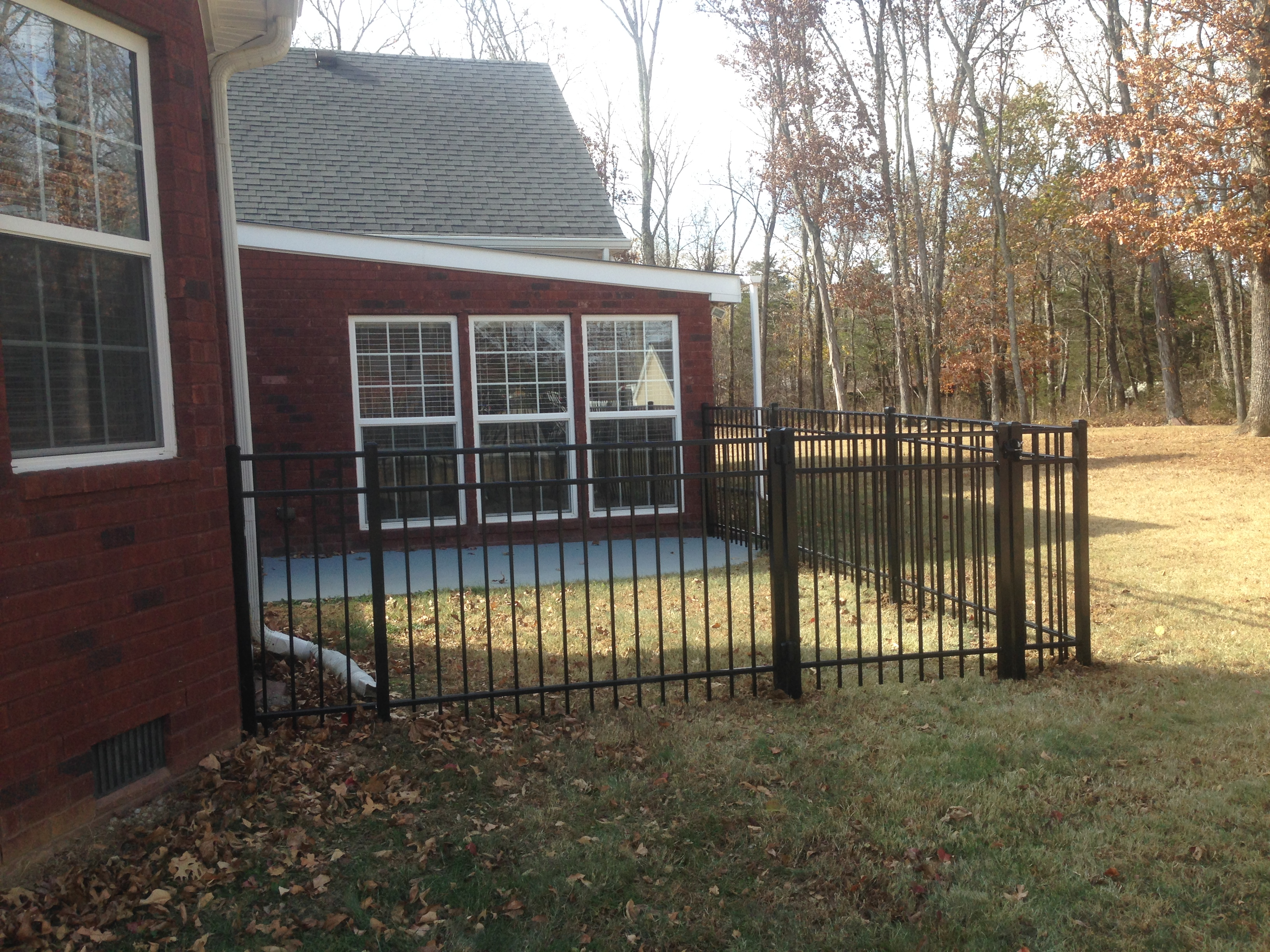 Completed Work Blackman Fence Murfreesboro Fence